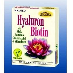 Hyaluron-Biotin Kapseln 30Stk